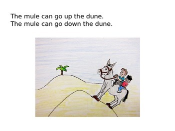 Decodable Book: Duke and the Mule
