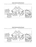 Decodable Guided Reading Book with Consonant Blends- Jab Crab and the Drum