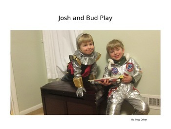 Decodable Book: Josh and Bud Play