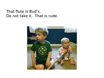 Decodable Book: June Is Rude