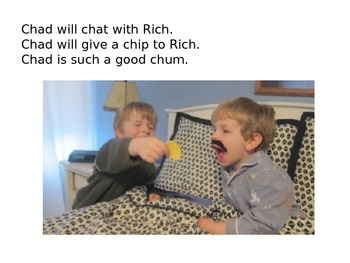 Decodable Book: Rich is Sick