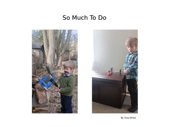 Decodable Book: So Much To Do
