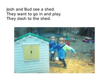 Decodable Book: The Shed