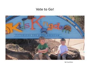 Decodable Book: Vote to Go