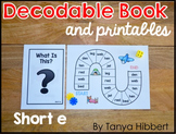 Decodable Book: short e