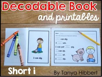 Decodable Book: short i