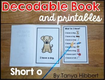 Decodable Book: short o