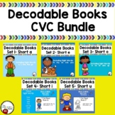 Decodable Books- CVC BUNDLE with Sight Words