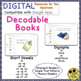 Decodable Books Distance Learning Google Phonics