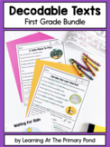Decodable Books: First Grade GROWING Bundle