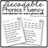 Decodable Fluency Practice Sheets
