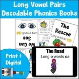 Decodable Phonics Books | CVC Long Vowel Pairs