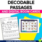 Decodable Phonics Passages & Boom Digital Passages with Co