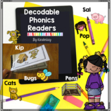 Decodable Phonics Readers For Little Kids