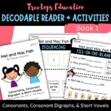 Decodable Pocket Reader #1 (Consonants and Short Vowels)