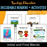 Decodable Pocket Readers #11-15: Initial and Final Consona