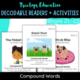 Decodable Pocket Readers #21-23: Compound Words
