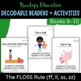 Decodable Pocket Readers #8-10: The FLOSS Rule (ff,ll,ss,zz)