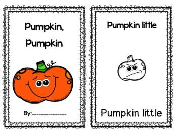 Decodable Pumpkin Reader