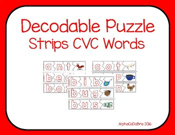 Decodable Puzzle Strips