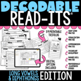 Decodable Read-Its® (Long Vowels & Dipthongs Edition) | Di