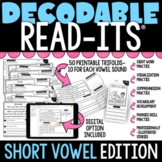 Decodable Read-Its® (Short Vowel Edition) | Distance Learning