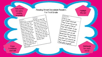 Decodable Reader - Cinderella (Adding endings -y to i; Digraph ea)