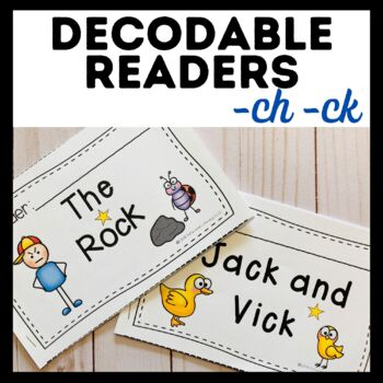 Decodable Reader Pack: Digraphs ch, ck