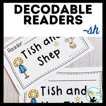 Decodable Reader Pack: Digraphs - sh