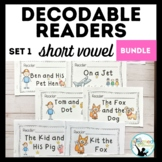 Decodable Readers: Short Vowel Bundle