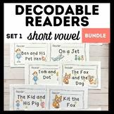 Decodable Readers: Short Vowel Bundle