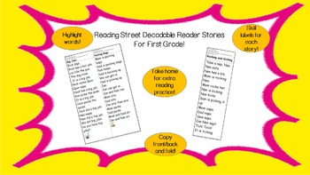 Decodable Reader - Tippy-Toe Chick (Final syllable ie; Dip