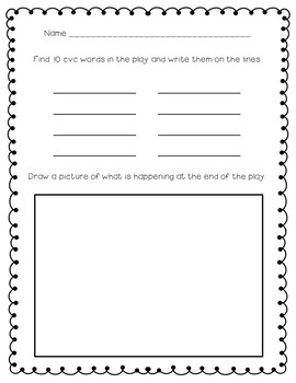 Decodable Reader's Theater CVC Words