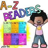 Decodable Readers Alphabet A-Z Readers