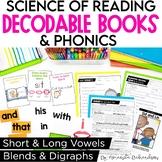 Decodable Readers for Kindergarten & First Grade BUNDLE