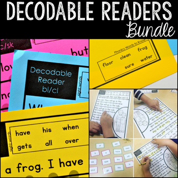 Decodable Readers: Bundle