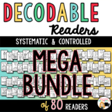 Decodable Readers Bundle Printable Books to Support the Sc
