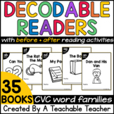 Decodable Readers | CVC Decodable Readers Bundle