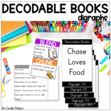 Decodable Readers Digraph Books K-2 Science of Reading