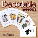 Decodable Readers-Emergent Readers (works with distance learning)