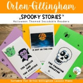 Decodable Readers Halloween Theme  Includes Digital