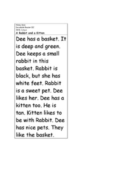 Decodable Reader - Honey Bees (Long e; Digraph th, wh)