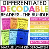 Decodable Readers   Kindergarten & 1st Grade   DIGITAL Boo