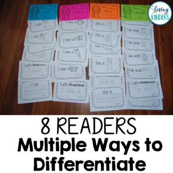 Rebus Readers: Kindergarten, RTI, Guided Reading