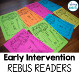 Rebus Readers: Kindergarten, RTI, Guided Reading