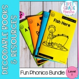 Decodable Readers Level 1 Bundle Fun Phonics