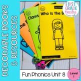 Decodable Readers Level 1 Unit 8 Fun Phonics