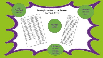 Decodable Reader - Peter's Chair (Compound Words; Dipthong