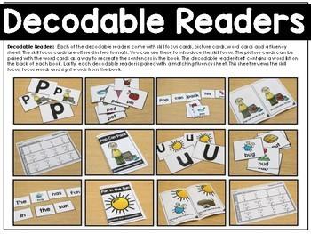 Decodable Readers (Pre-K and Kindergarten)