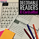 Decodable Readers: R-Controlled Vowel Words
